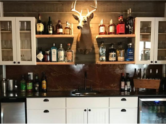Bar Inside Tactical Gun Range Lodge